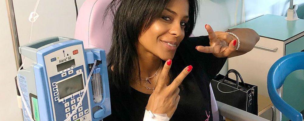 Georgette Polizzi inizia la terapia contro la sclerosi multipla