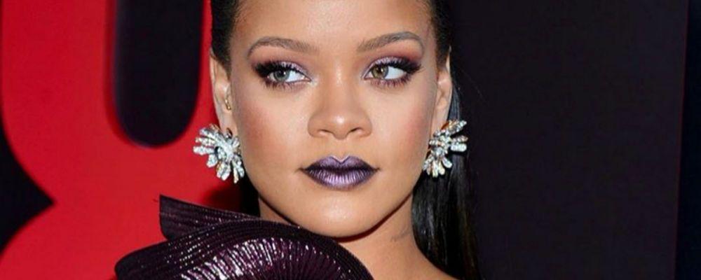 Rihanna bionda e sexy su Instagram