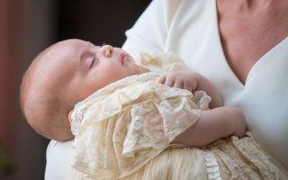Royal baby, le immagini del battesimo del Principe Louis