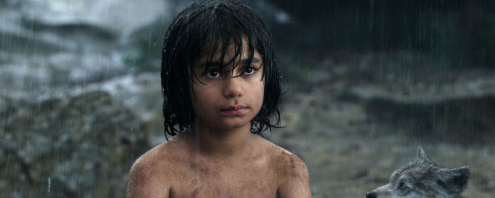 Il libro della giungla il live action con mowgli umano in prima tv