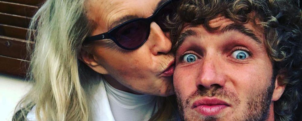 Paolo Ciavarro e la mamma Eleonora Giorgi al GF VIP: 'Non so se sa a cosa va incontro'