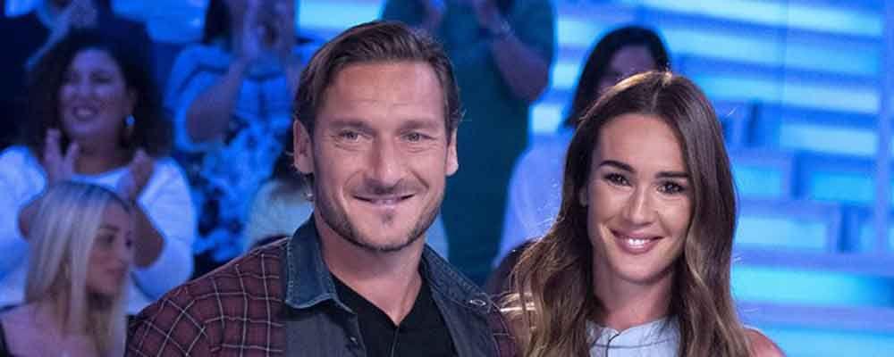 """Verissimo, Francesco Totti: """"L'amore migliora e con i figli migliorerà ancora di più"""""""