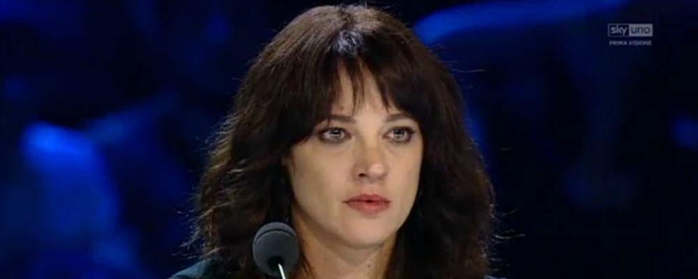 X Factor 2018, prima puntata di Audizioni: le lacrime di Asia Argento e la cherofobia