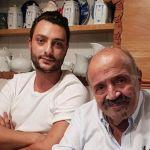 Maurizio Costanzo, primo selfie social con il figlio Gabriele