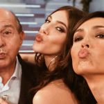 Giancarlo Magalli da Caterina Balivo: 'Mia figlia bomba sexy? È più un cornetto'