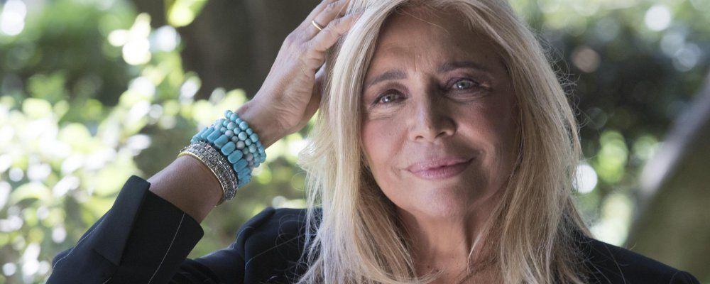 Domenica In, Mara Venier: 'Delle passate edizioni ricordo solo la spinta di Fabrizio Frizzi'