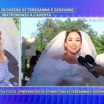 Teresanna Pugliese, l'ex tronista di Uomini e donne si è sposata in diretta a Pomeriggio Cinque