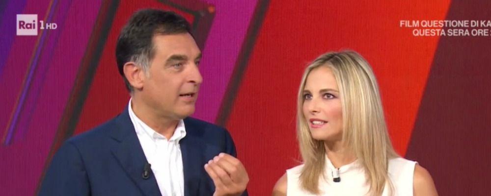 Francesca Fialdini sbotta a La vita in diretta, la gaffe clamorosa