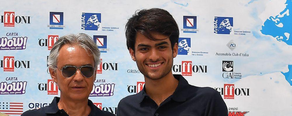 Che tempo che fa: Andrea Bocelli e il figlio Matteo ospiti di Fabio Fazio domenica 28 ottobre