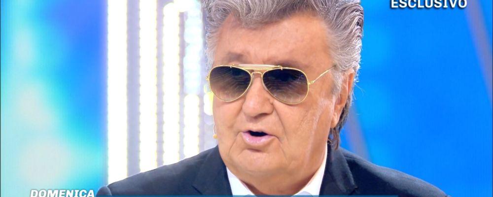Domenica Live, Bobby Solo riconciliato con Veronica Satti: 'Ho sofferto ma ora mi sento liberato'