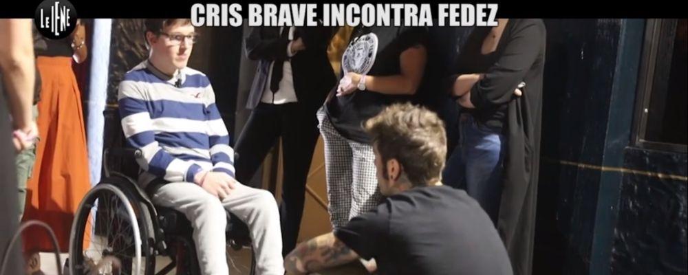 Le iene, Fedez incontra il rapper disabile Cris Brave: anticipazioni puntata 30 ottobre