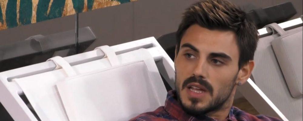 Bacio saffico al Grande Fratello Vip 2018, Francesco Monte: 'Mi fa schifo'