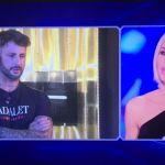 Grande Fratello Vip 2018, Fabrizio Corona e Ilary Blasi: lo scontro in diretta
