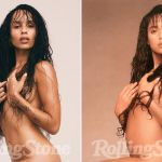 Zoë Kravitz, figlia di Lenny, nuda su Rolling Stone trent'anni dopo mamma Lisa Bonet