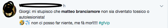 GFVip 2018, Eleonora Giorgi: 'Matteo Branciamore? Mi stupisc