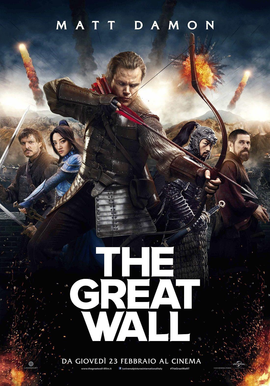 The Great Wall |  trama |  cast e curiosità del film con Matt Damon