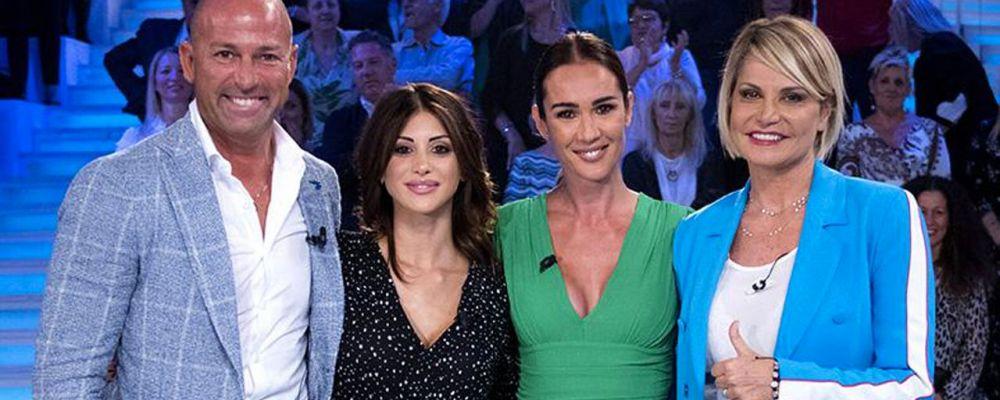 Simona Ventura, Stefano Bettarini e Nicoletta Larini a Verissimo: 'Quando siamo usciti gli ho dato uno schiaffo'