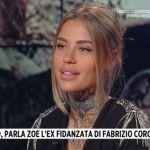 Storie italiane, Zoe Cristofoli spiega le ragioni della rottura con Fabrizio Corona