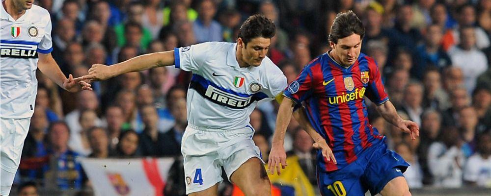 Ascolti tv, Barcellona - Inter batte Rocco Schiavone 2