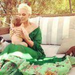 Brigitte Nielsen, mamma a 55 anni: 'Il momento più felice della mia vita'