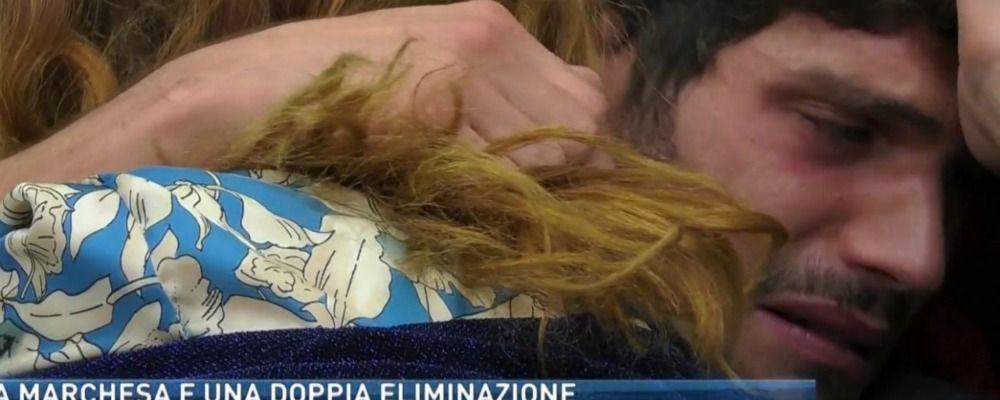 Grande Fratello Vip 2018, Alessandro Cecchi Paone fa piangere Elia Fongaro