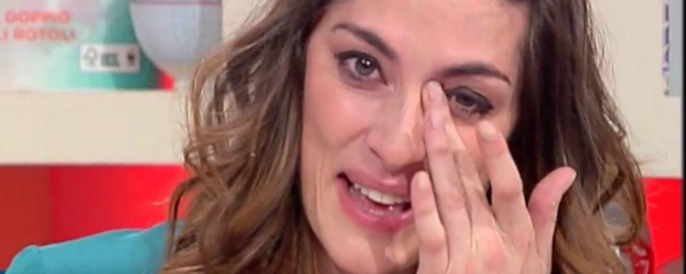La prova del cuoco, dopo le polemiche le lacrime di Elisa Isoardi