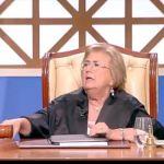 Forum, la giudice Melita Cavallo su tutte le furie con l'imputata (VIDEO)