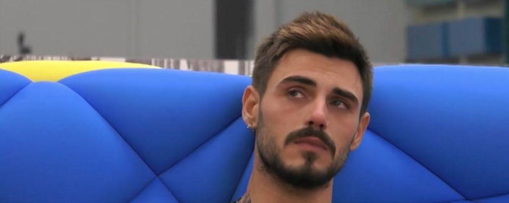 GFVip 2018, Francesco Monte in lacrime per Cecilia Rodriguez: 'Sono scappato dal dolore'