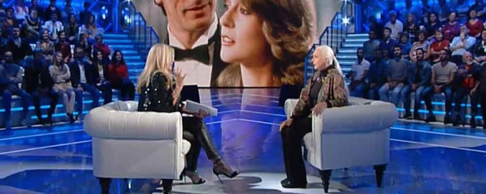 Domenica In, le lacrime di Loretta Goggi ricordando Gianni Brezza