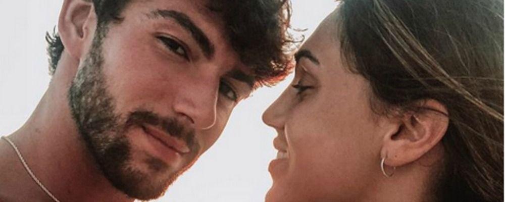 Cecilia Rodriguez e Ignazio Moser, foto bollente nella vasca da bagno