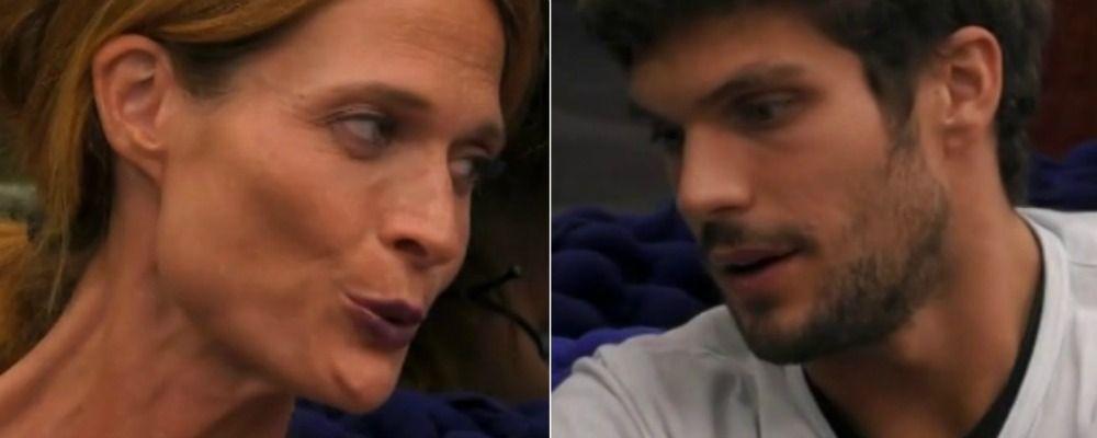 GFVip 2018, Jane Alexander tra le braccia di Elia dopo la telefonata del fidanzato: 'Mi sento protetta'