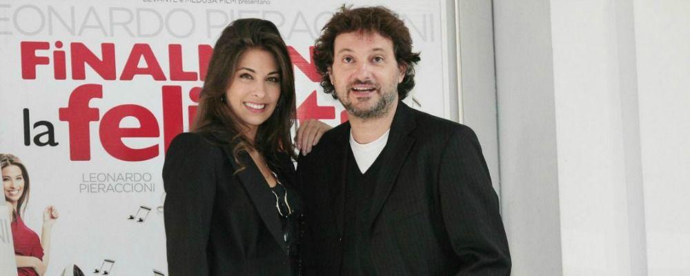 Leonardo Pieraccioni paparazzato con Ariadna Romero