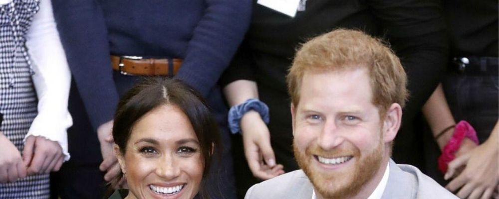 Meghan Markle e il principe Harry aspettano il secondo figlio