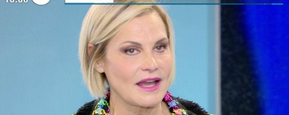 Simona Ventura e la crisi con Gerò Carraro: 'È un momento di riflessione'