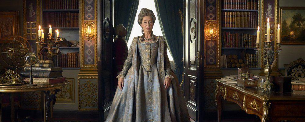 Catherine the Great, la prima immagine di Helen Mirren nei panni della celebre regina russa