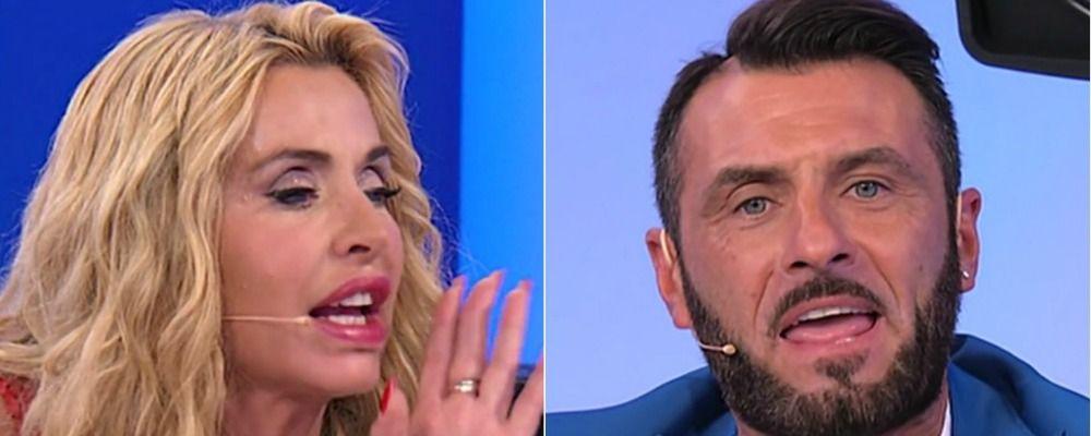Uomini e donne speciale Temptation Island Vip, Valeria Marini a Sossio: 'Non sai l'italiano'
