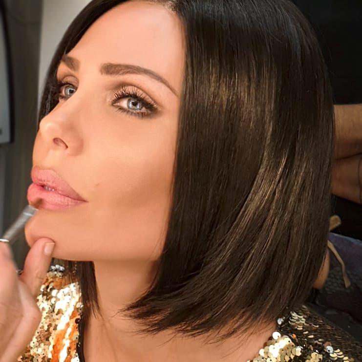 Il nuovo taglio di capelli di ilary blasi