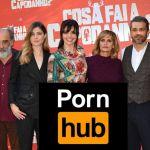 Luca Argentero e Ilenia Pastorelli scambisti su PornHub per 'Cosa fai a Capodanno'