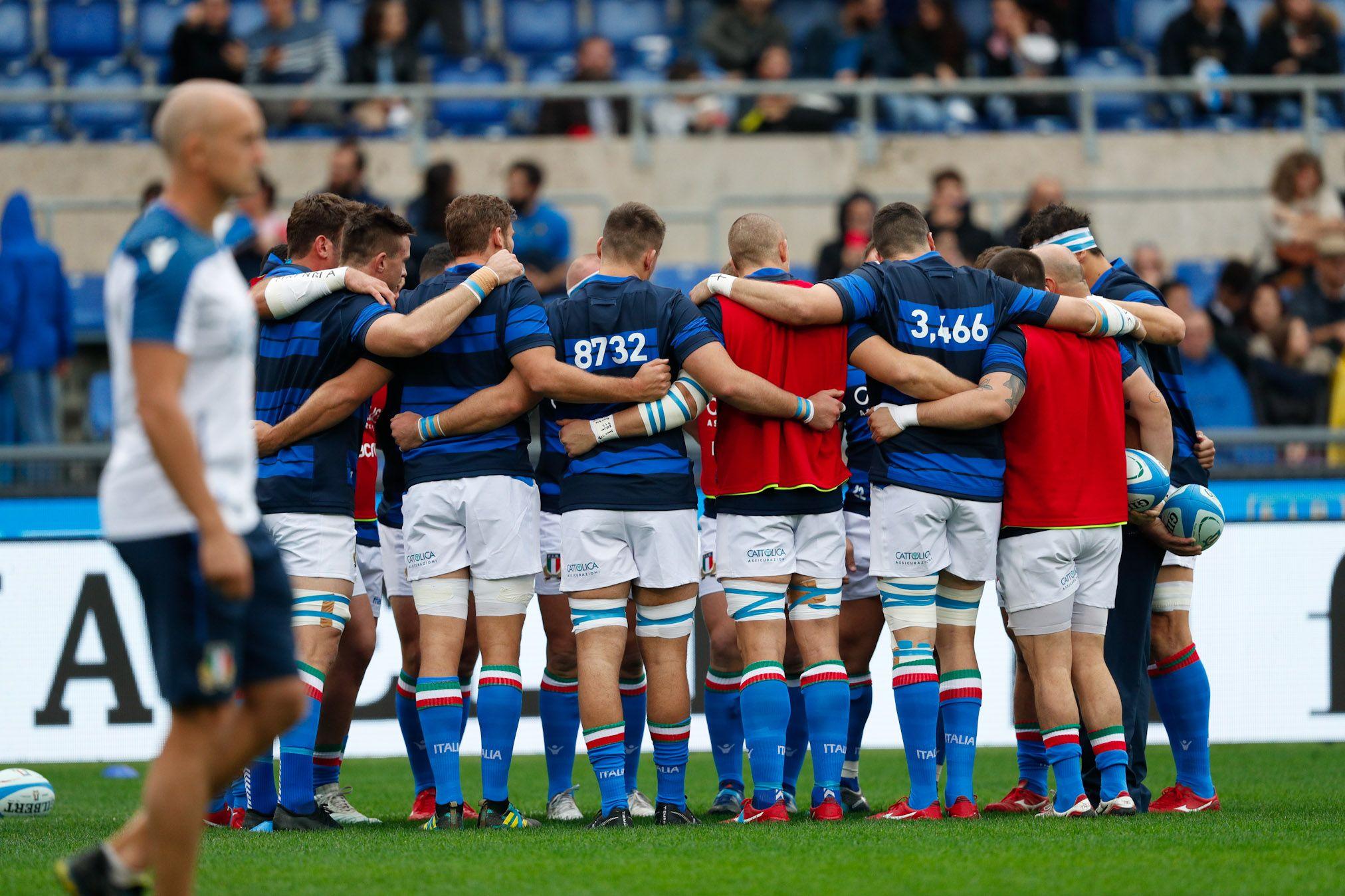 Rugby, Italia-Nuova Zelanda 3-66