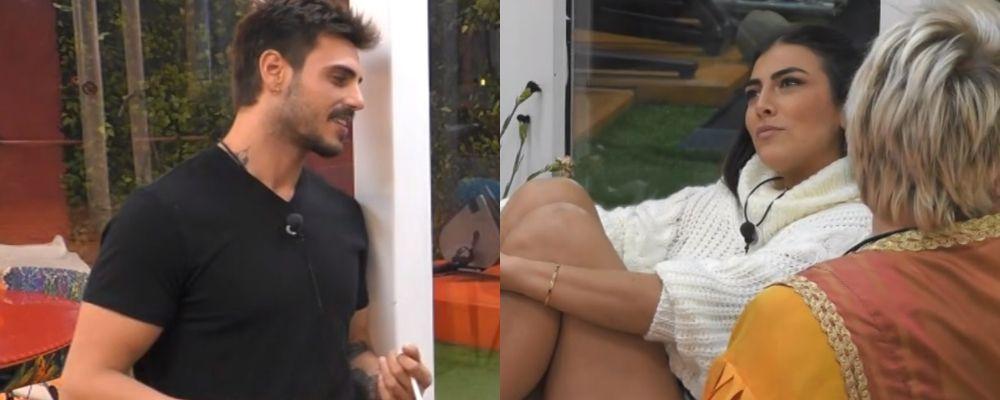 Grande Fratello VIP 2018, lite tra Francesco Monte e Giulia Salemi: 'Io e te non andremo lontani'