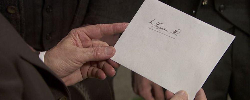 Il segreto, la misteriosa lettera di Francisca: anticipazioni puntata 20 novembre