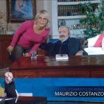 Che tempo che fa, Maria De Filippi si 'intromette' e mostra il frigo di Maurizio Costanzo