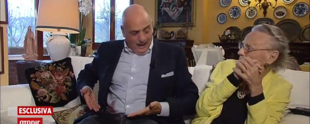 Storie italiane, sangue sulla camicia di Paolo Brosio: collegamento interrotto