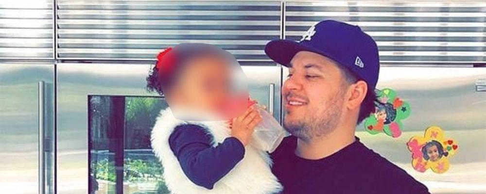 Il fratello di Kim Kardashian in crisi: 'Non posso permettermi gli alimenti per mia figlia'