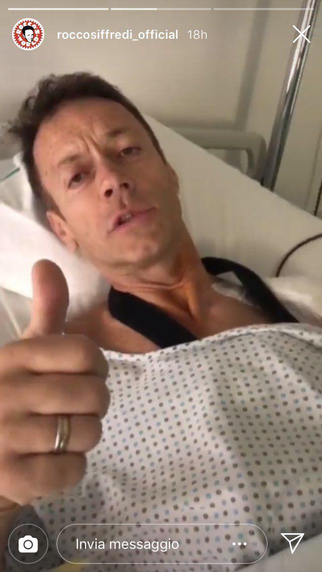 Rocco Siffredi in ospedale per un'operazione: 'È andata very