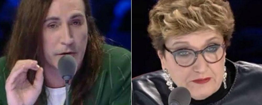 X Factor 2018, terzo live: volano parolacce tra Manuel Agnelli e Mara Maionchi