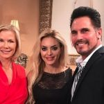 Elena Morali da L'isola dei famosi alla soap opera Beautiful: sul set con Brooke