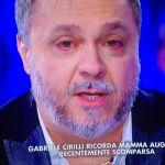 Verissimo, Gabriele Cirilli: 'Ho pianto poco per la morte di mia madre'