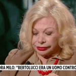 Bernardo Bertolucci, Sandra Milo a Storie Italiane: 'Con lui scompare un mondo'