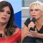 Uomini e donne, insulti contro la corteggiatrice Giulia Cavaglia. Maria De Filippi perde le staffe